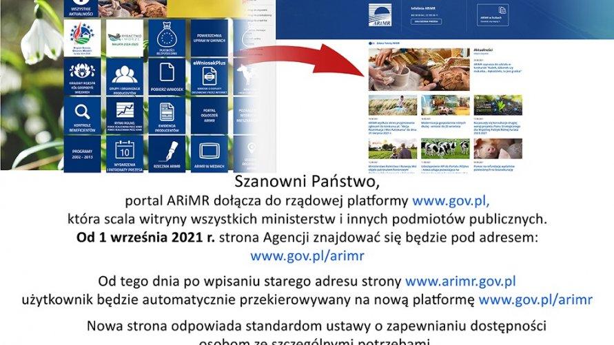 Portal ARiMR pod nowym adresem