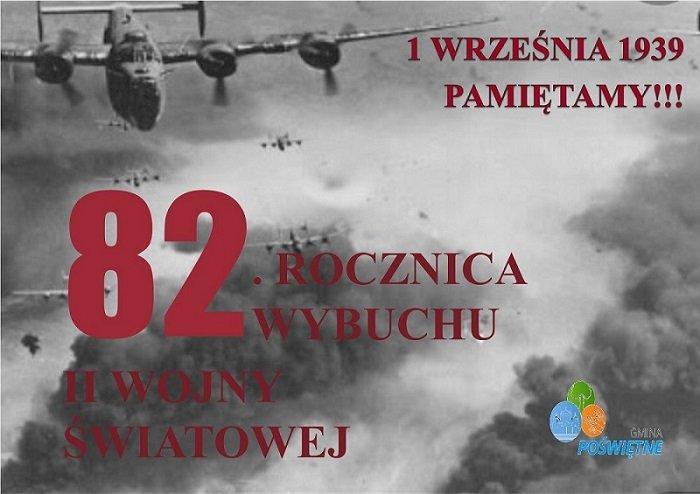 82. ROCZNICA WYBUCHU II WOJNY ŚWIATOWEJ. PAMIĘTAMY!