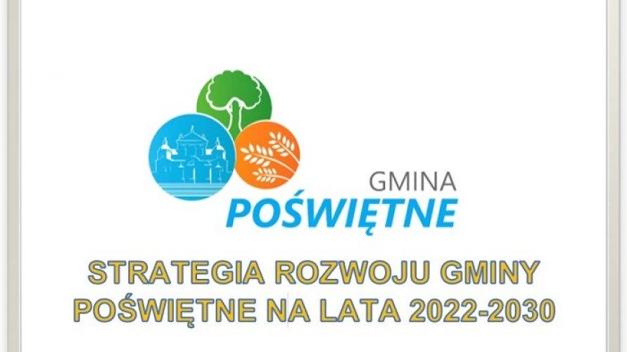 Ankieta dotycząca prac nad Strategią Rozwoju Gminy Poświętne na lata 2022-2030
