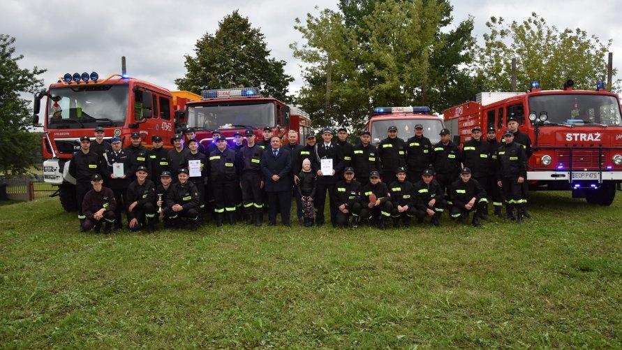 Nowy Zarząd Gminny Związku OSP RP oraz zawody strażackie w gminie Poświętne